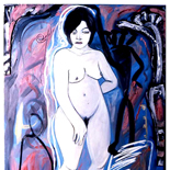 ariana1_91_40x60_oil_canvas,Al Ford, Female Nudes, Ford, Gallery East, Gallery East Network