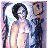 ariana2_91_28x38_pastel, Al Ford, Female Nudes, Ford