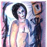 ariana2_91_28x38_pastel, Al Ford, Female Nudes, Ford