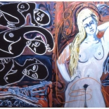 maria2_92_40x62_oil_canvas, Al Ford, Female Nudes, Ford, Gallery EastAl Ford, Female Nudes, Ford, Gallery East, Gallery East Network