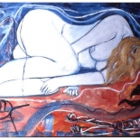 maria5_92_36x60_oil_canvas, Al Ford, Female Nudes, Ford, Gallery EastAl Ford, Female Nudes, Ford, Gallery East, Gallery East Network