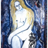 maria9_92_36x48_oil_mixed_media, Al Ford, Female Nudes, Ford, Gallery EastAl Ford, Female Nudes, Ford, Gallery East, Gallery East Network