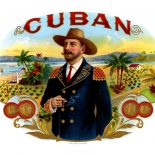 1900c_cigar_cuban_7x9_dlw, Cuban, Cole Lithograph Co, Cuban Cigar Labels, Lithograph, c1900, Gallery East, Gallery East Network