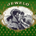 1900c_cigar_jewelo_5.5x10_dlw, Jewelo, Cuban Cigar Labels, Lithograph, c1900, Gallery East, Gallery East Network