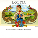 1900c_cigar_lolita_6x9.5_dlw, Jewelo, Cuban Cigar Labels, Lithograph, c1900, Gallery East, Gallery East Network