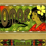 1910c_cigar_omar_6.5x9_dlw, Omar, Cuban Cigar Labels, Lithograph, 1910c, Gallery East, Gallery East Network