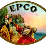 1920c_cigar_epco_2.25x3_dlw, EPCO, East Prospect Cigar CO, Lithograph, 1900c, Gallery East, Gallery East Network