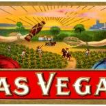 1920c_cigar_las_veagas_2.5x5.25_dlw, Las Vegas, Cuban Cigar Labels, Lithograph, 1920c, Gallery East, Gallery East Network