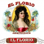 1925_cigar_el_florio_6.5x9.25_dlw, El Florio, Moehle Litho Co, Cuban Cigar Labels, Lithograph, 1925, Gallery East, Gallery East Network