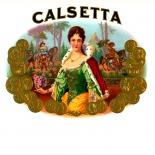 1930c_cigar_calsetta_dlw, Calsetta, Cuban Cigar Labels, Lithograph, 1920c, Gallery East, Gallery East Network