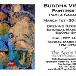 savarino_20070301_bodhitree_w, 2006, Buddah Visions, March, Encaustic on Canvas Savarino, Poster, Savarino