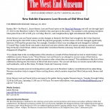01_Street Names Lost and Found press release, Gallery East Network