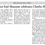 20140724b charles bulfinch beacon hill times, Gallery East Network