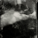 08_4b89702d54fee6df-wetplate024_8, Untitled 8, Collodion Autoportrait, Daniel Baird-Miller, 2013, Tintype, Gallery East, Gallery East Network