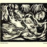 daskunstblatt_005_klemm_w, Das Kunstblatt, Klemm, Woodcut, 1917, Paul Westheim, German Expressionism, Plates, Gallery East, Gallery East Network