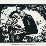daskunstblatt_02_schmidt_rottluff_w, Das Kunstblatt, Karl Schmidt-Rottluff, Lithograph, 1917, Paul Westheim, German Expressionism, Plates, Gallery East, Gallery East Network