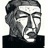daskunstblatt_03_schmidt_rottluff_w, Das Kunstblatt, Karl Schmidt-Rottluff, Lithograph, 1917, Paul Westheim, German Expressionism, Plates, Gallery East, Gallery East Network