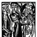 daskunstblatt_11_01_schmidt_rottluff_w, Das Kunstblatt, Karl Schmidt-Rottluff, Lithograph, 1917, Paul Westheim, German Expressionism, Plates, Gallery East, Gallery East Network