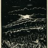 1939_masereel_noir_blanc_4.25x6.25_pl01_dlw, Du Noir au Blanc PL1, Frans Masereel, Masereel, 1939, Woodcut, Gallery East, Gallery East Network