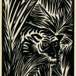 1939_masereel_noir_blanc_4.25x6.25_pl03_dlw, Du Noir au Blanc PL3, Frans Masereel, Masereel, 1939, Woodcut, Gallery East, Gallery East Network