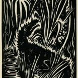 1939_masereel_noir_blanc_4.25x6.25_pl02_dlw, Du Noir au Blanc PL2, Frans Masereel, Masereel, 1939, Woodcut, Gallery East, Gallery East Network
