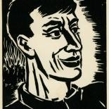 1939_masereel_noir_blanc_4.25x6.25_pl47_dlw, Du Noir au Blanc PL47, Frans Masereel, Masereel, 1939, Woodcut, Gallery East, Gallery East Network