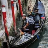 13_Mooring Gondolier, Giselle Valdes, Italy, Gallery East, Valdes, 2012, Gallery East Network