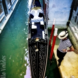 20_Pensive Gondolier, Giselle Valdes, Italy, Gallery East, Valdes, 2012, Gallery East Network