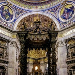 23_Bernini's Baldacchino, Giselle Valdes, Italy, Gallery East, Valdes, 2012, Gallery East Network