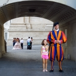 25b_Swiss Guard at St.Peter's, Giselle Valdes, Italy, Gallery East, Valdes, 2012, Gallery East Network