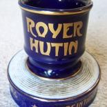 royer_hutin_absinthe, Absinthe Triple Sec, Royer Hutin, Hutin, 1910, Ceramic, Gallery East, Gallery East Network