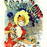 010_les_affiche_illstrees_f235_w, Les Affiches Illustrees, AIF235, Cheret, 1896, Imprimerie Chaix, Lithograph, Art Nouveau, Belle Epoque, Ernest Maindron, Eugene Verneau, Gallery East, Gallery East Network