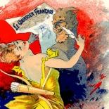 014_les_affiche_illstrees_f337_w, Les Affiches Illustrees, AIF337, Cheret, 1896, Imprimerie Chaix, Lithograph, Art Nouveau, Belle Epoque, Ernest Maindron, Eugene Verneau, Gallery East, Gallery East Network