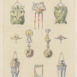 25_1900_album_decoration_bijoux_00_w, Maurice Daurat, Bijoux, 1900, Lithographs, Gallery East, Daurat, Gallery East Network