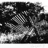 fence_maryann_walsh_w, Fence, Photographs, Maryann Walsh, Photographer, Gallery East, Walsh, Gallery East Network