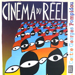 cinema_du_reel_20x30_w, Cinema du Reel, 1983. Biblioteque Centre Pompidou, Silkscreen, Serigraph, Gallery East, Gallery East Network