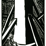 1928_masereel_loeuvre_3x3.75_01_dlw, L'oeuvre PL01, Frans Masereel, 1928, Woodcut, Masereel, Gallery East, Gallery East Network