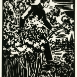 1928_masereel_loeuvre_3x3.75_10_dlw, L'oeuvre PL10, Frans Masereel, 1928, Woodcut, Masereel, Gallery East, Gallery East Network