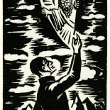 1928_masereel_loeuvre_3x3.75_51_dlw, L'oeuvre PL51, Frans Masereel, 1928, Woodcut, Masereel, Gallery East, Gallery East Network