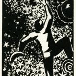 1928_masereel_loeuvre_3x3.75_58_dlw, L'oeuvre PL58, Frans Masereel, 1928, Woodcut, Masereel, Gallery East, Gallery East Network