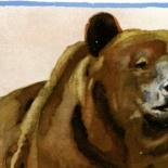 hohlwein_pl020006, Ludwig Hohlwein, Bear, German Poster Art, Plaktmeister, Lithograph, Munchen Artist, Professor H.K. Frenzel, 1926, Gallery East, Hohlwein, Galley East Network