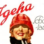 hohlwein_pl020058, Ludwig Hohlwein, Schocholade, German Poster Art, Plaktmeister, Lithograph, Munchen Artist, Professor H.K. Frenzel, 1926, Gallery East, Hohlwein, Gallery East Network