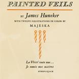 1929_majeska_painted_veils_pl000_dl, Painted Veils PL000, Madame Majeska, Majeska, 1929, Knudson Print, Gallery East, Gallery East Network
