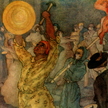 1929_majeska_painted_veils_pl03_4.5x6_dlw, Painted Veils PL03, Madame Majeska, Majeska, 1929, Knudson Print, Gallery East, Gallery East Network