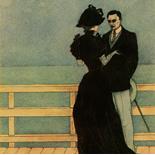 1929_majeska_painted_veils_pl08_4.5x6_dlw, Painted Veils PL08, Madame Majeska, Majeska, 1929, Knudson Print, Gallery East, Gallery East Network