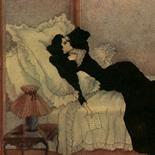 1929_majeska_painted_veils_pl09_4.5x6_dlw, Painted Veils PL09, Madame Majeska, Majeska, 1929, Knudson Print, Gallery East, Gallery East Network
