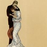 1929_majeska_painted_veils_pl10_4.5x6_dlw, Painted Veils PL10, Madame Majeska, Majeska, 1929, Knudson Print, Gallery East, Gallery East Network