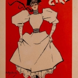 1896_pl004_hardy2_dlw, Maitres de L'Affiche, PL004, Dudley Hardy, Hardy, 1896, Lithograph, Imprimerie Chaix, Jules Cheret, Art Nouveau, Belle Epoque, Gallery East, Gallery East Network