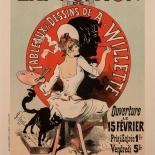 019_1898_pl097_cheret_w, Maitres de L'Affiche, PL097, Cheret, 1898, Lithograph, Imprimerie Chaix, Jules Cheret, Art Nouveau, Belle Epoque, Gallery East, Gallery East Network