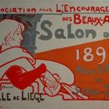 1898_pl108_berchmans_dlw_800w, Maitres de L'Affiche, PL108, Berchmans, 1898, Lithograph, Imprimerie Chaix, Jules Cheret, Art Nouveau, Belle Epoque, Gallery East, Gallery East Network